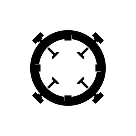 Bayonet mount icon Ilustrace