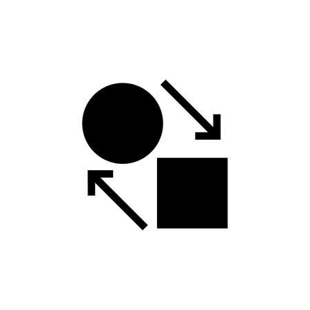 Barter system icon Archivio Fotografico - 102275838