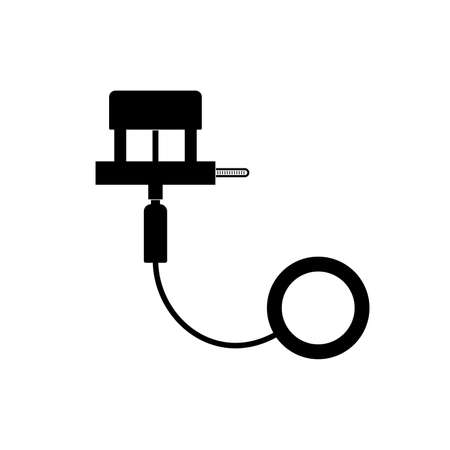 Medical vacuum extractor icon Ilustracja