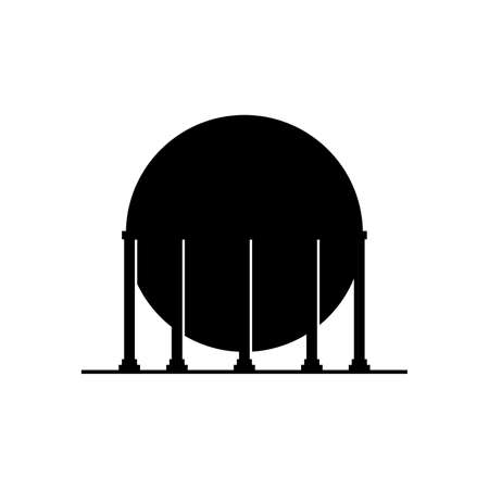 Gas holder container icon