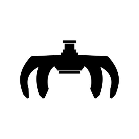 Claw grabbing mechanism icon