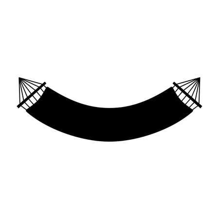 Suspended hammock icon