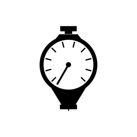 Durometer, hardness measuring device icon
