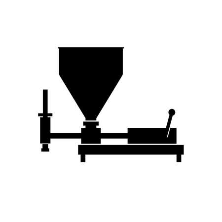 Automatic chocolate moulding system Illustration