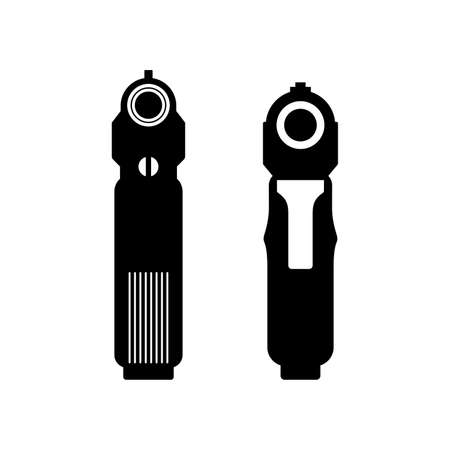 Pistol barrel icons