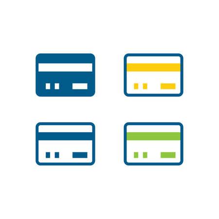 bank card icons Illustration