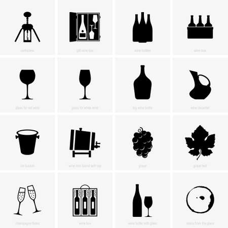 Wine and winery objects
