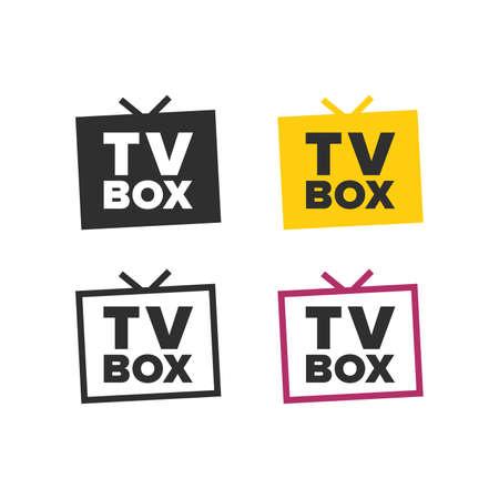 TV box icons