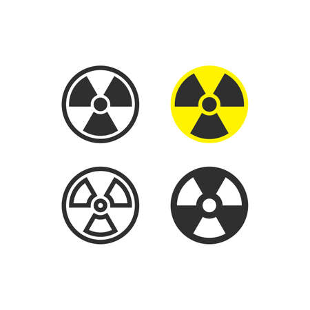 Nuclear radiation icons