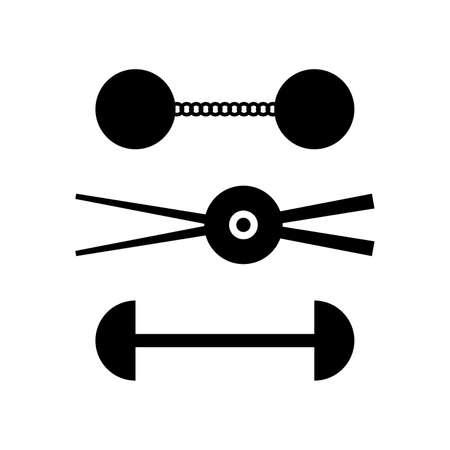 Chain-shots (sailing ship ammunition) Ilustrace