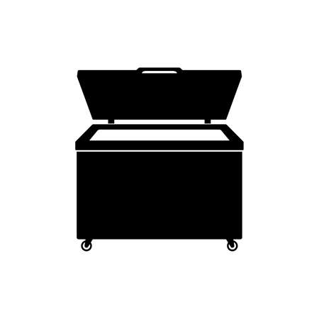 Chest freezer icon