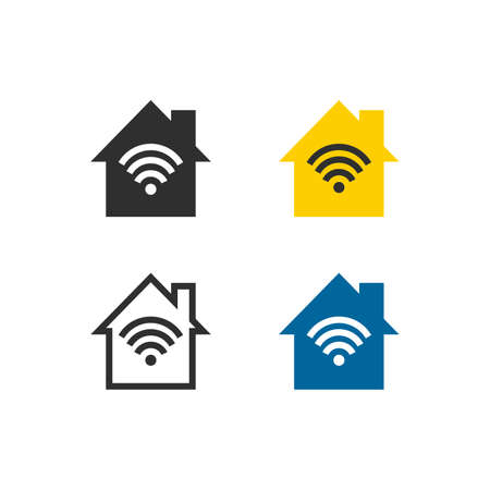 Home wireless network icons