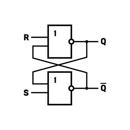 Flip-flop (latch) circuit
