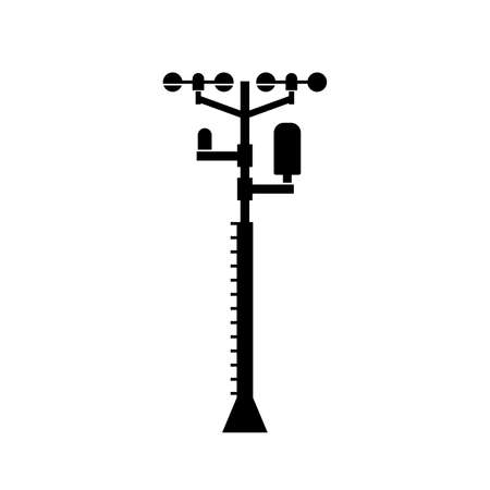 Weather station facility icon
