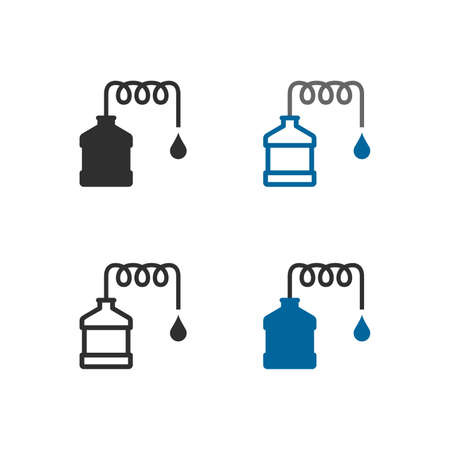 Distillation apparatus icons