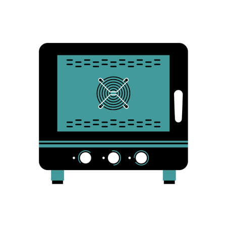 Steamer oven vector illustration Illustration