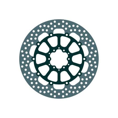 Rotor de frein de moto