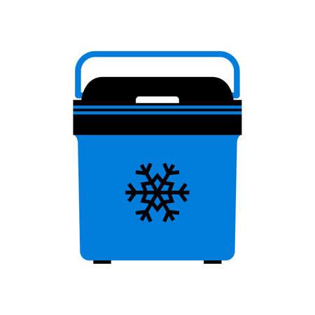 Mini przenośna lodówka samochodowa (lodówka)