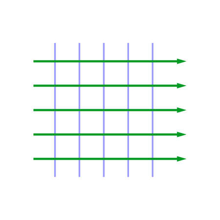 Equal amplitude plane wave