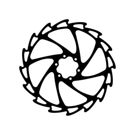 Bicycle (bike) wheel asterisk