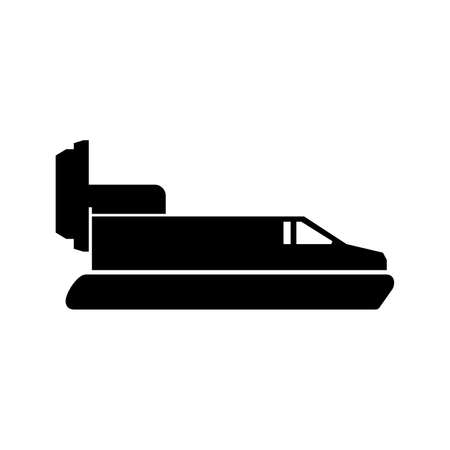 Air cushioned passenger boat