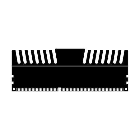 Memory module with a radiator