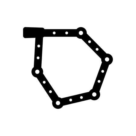 Folding bicycle lock Çizim