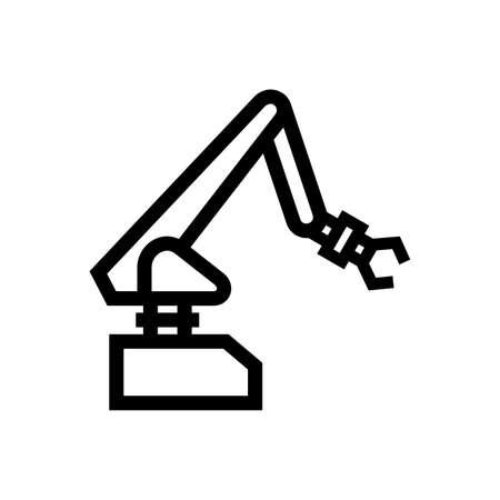 Industrial robot manipulator Иллюстрация