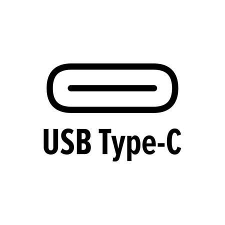 USB Type C symbol