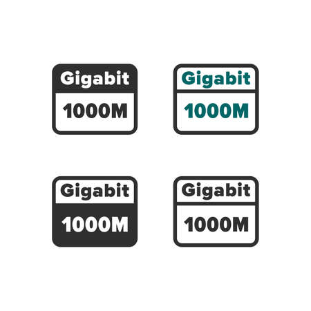 Gigabit internet icon