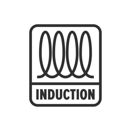 Espiral de inducción (cocción), señal eléctrica