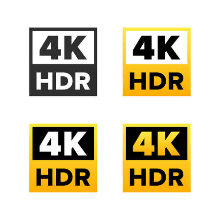 4K Ultra HD sign set