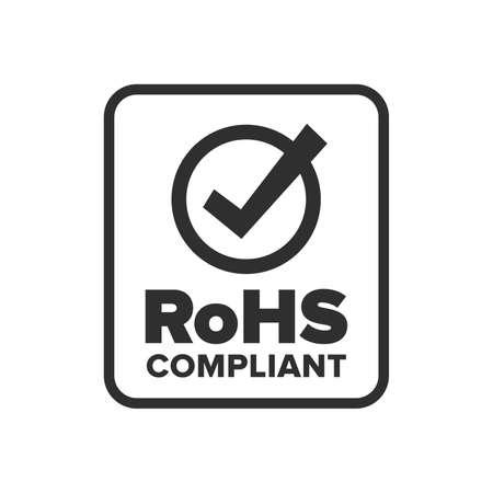 RoHS compliant symbol - Vector