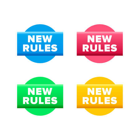 New rules symbol - Vector Ilustrace