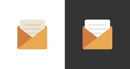 Incoming letter icon - Vector