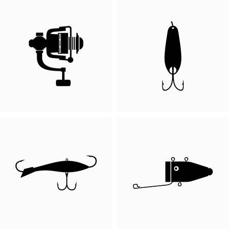 Fishing tackle equipment - Vector