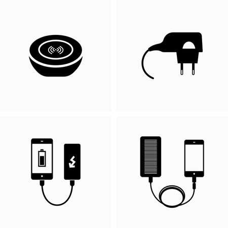 Device charging equipment - Vector