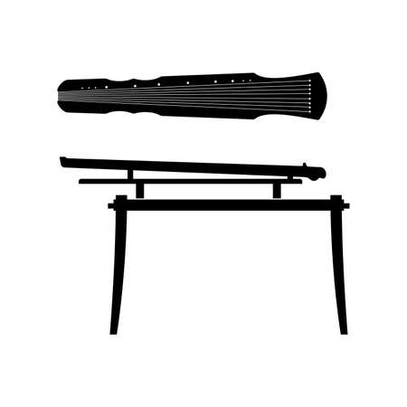 Guqin, plucked seven-string Chinese musical instrument