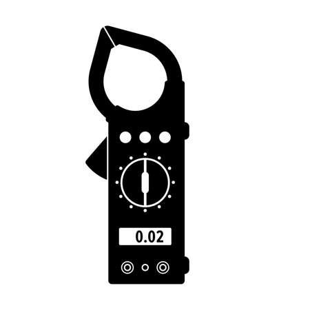 Clamp Multimeter, device Ilustracje wektorowe
