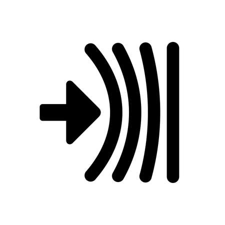 Shock absorber filling - Vector