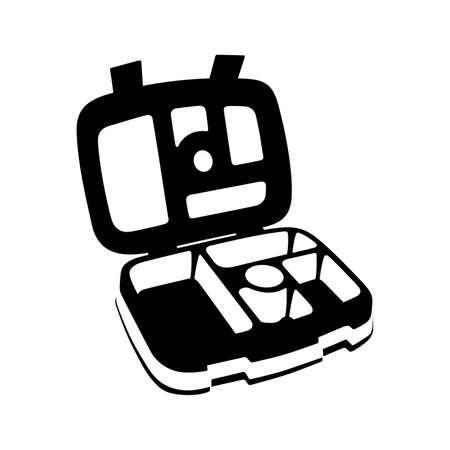 Bento kids lunch box - Vector
