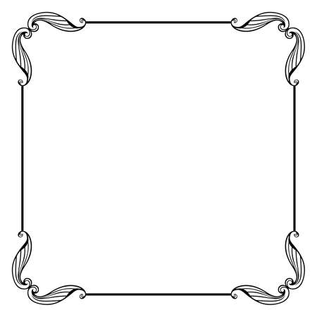Cornice decorativa vettoriale - Vector