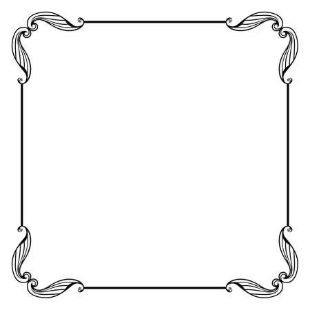 Marco de vector decorativo - Vector