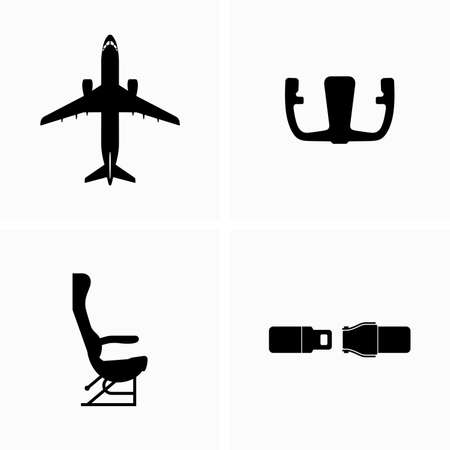 Aircraft and inside ambiance