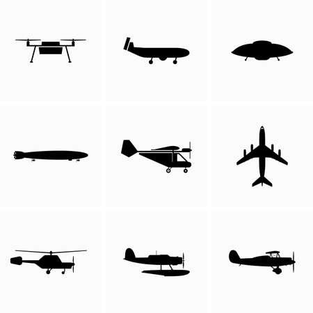 Heavier than air aircraft, aviation