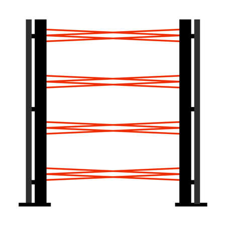 Optical electronical protective safety barrier