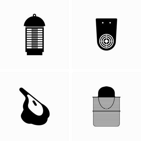 Mosquito repellent and mosquito control devices Illustration