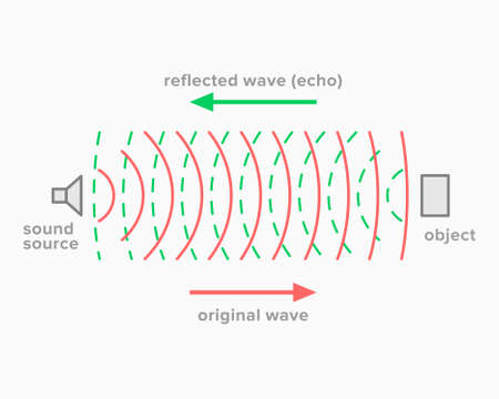 Echo, acoustic phenomenon of sound reflection