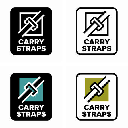 Lifting and moving carry straps belts