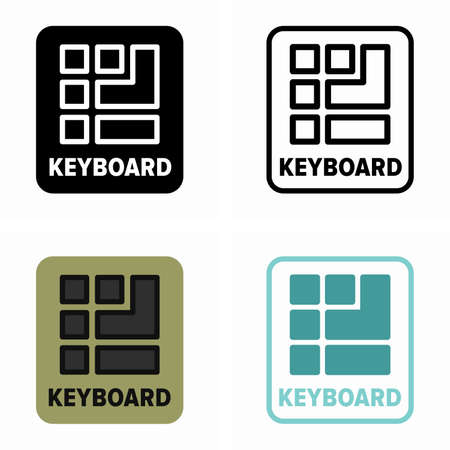 Physical or virtual keyboard availability on a device